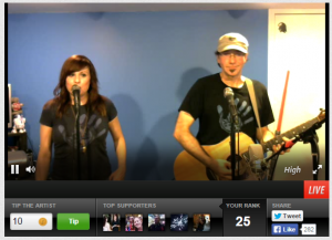 Sirsy presents at stageit.com